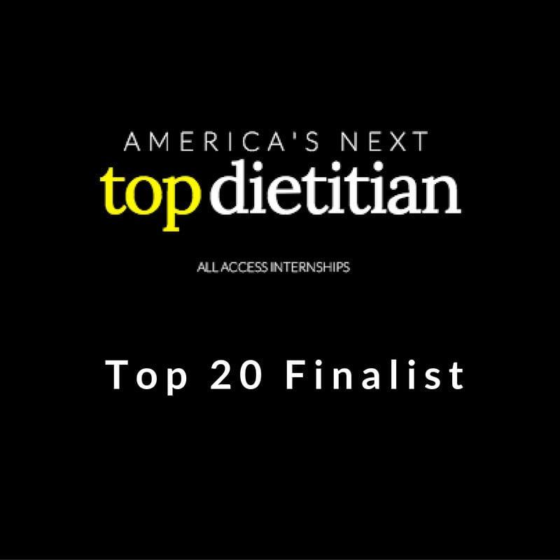 America's Next Top Dietitian