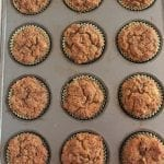 Pumpkin Banana Muffins gluten free, grain free, paleo friendly
