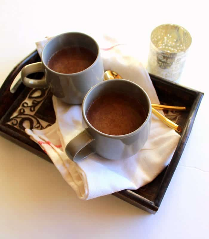 Hot Cocoa - low FODMAP, gluten free, dairy free