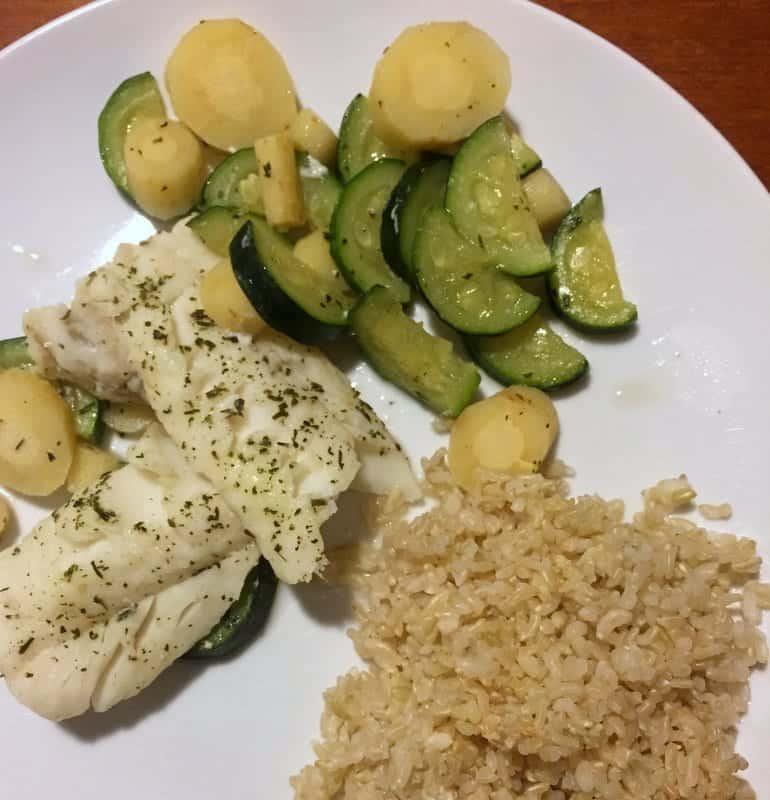Cod dinner