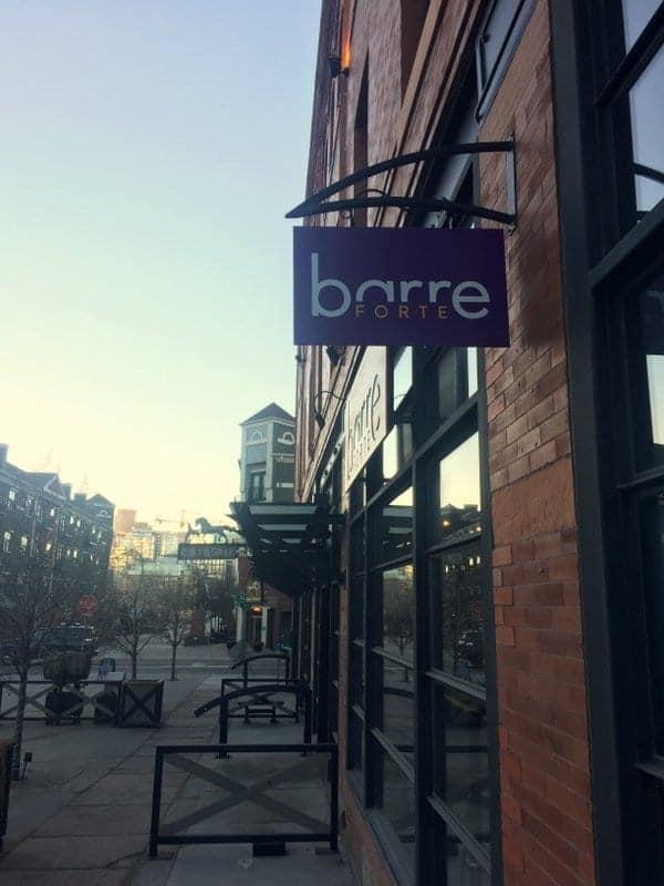Barre Forte LoHi Denver