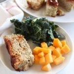 low FODMAP BBQ Chicken Meatloaf - gluten free, dairy free