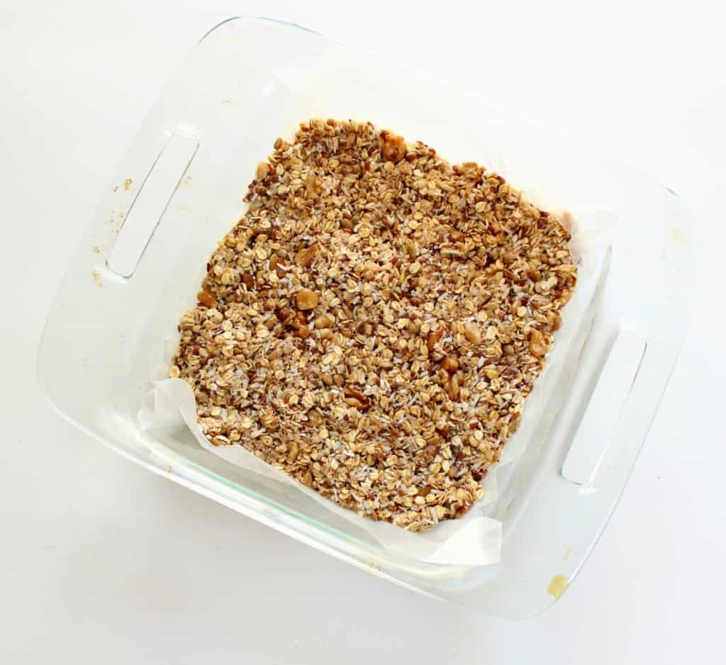 Homemade No Bake Granola Bars low FODMAP, Gluten Free, Dairy Free, Vegan