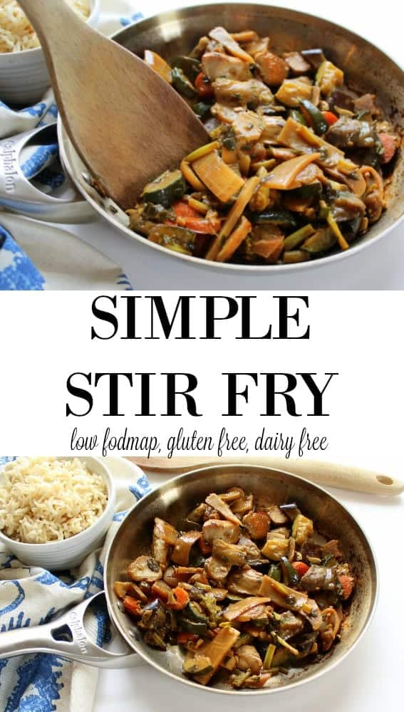 How to Reduce Food Waste - Simple Stir Fry Recipe #glutenfree #dairyfree #lowFODMAP