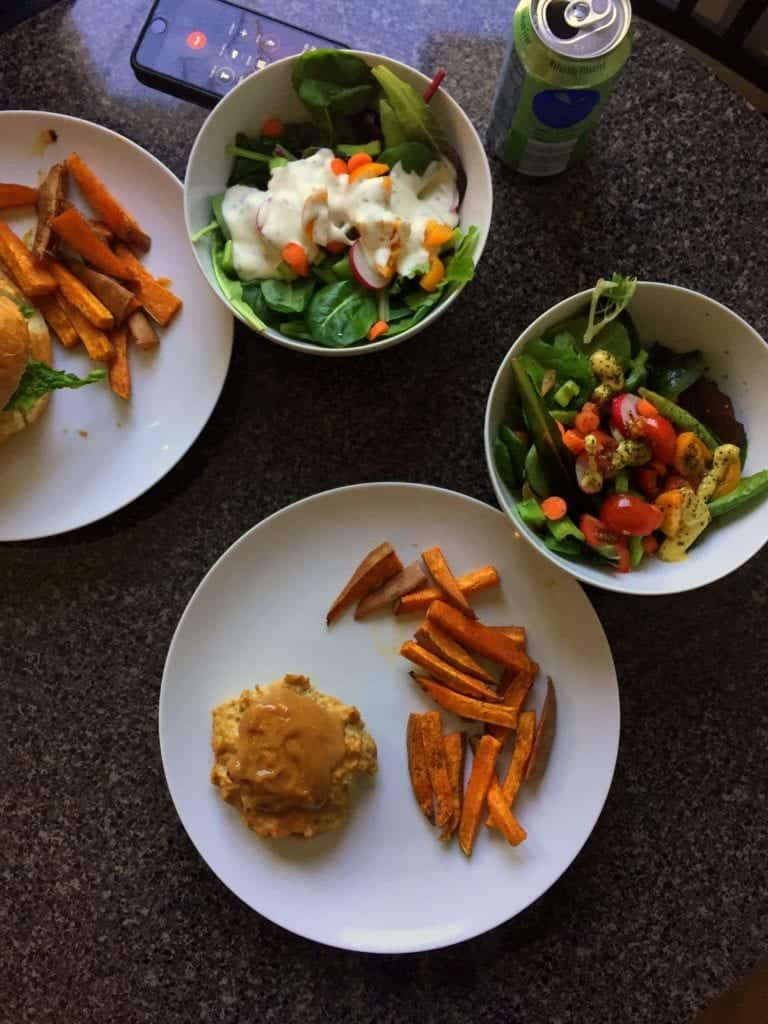 Five Things Friday Thai Chicken burgers