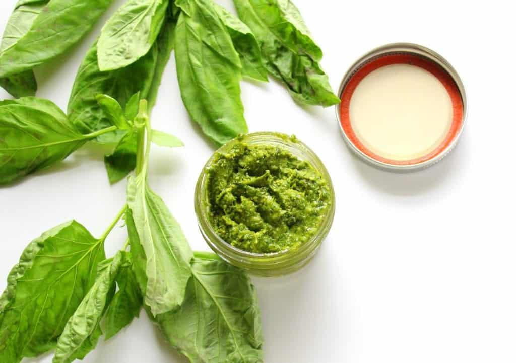 Avocado Oil Pesto - low FODMAP, gluten free, grain free, dairy free