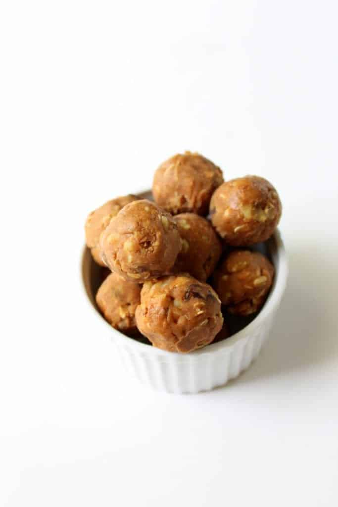 Oatmeal Raisin Energy Bites - Gluten Free, low FODMAP, dairy free