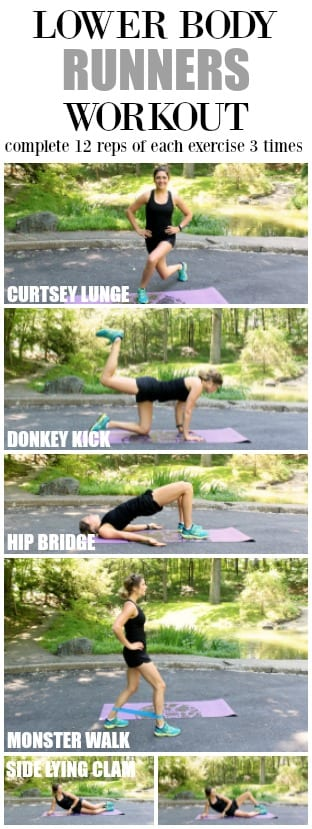 Lower Body Runners Workout
