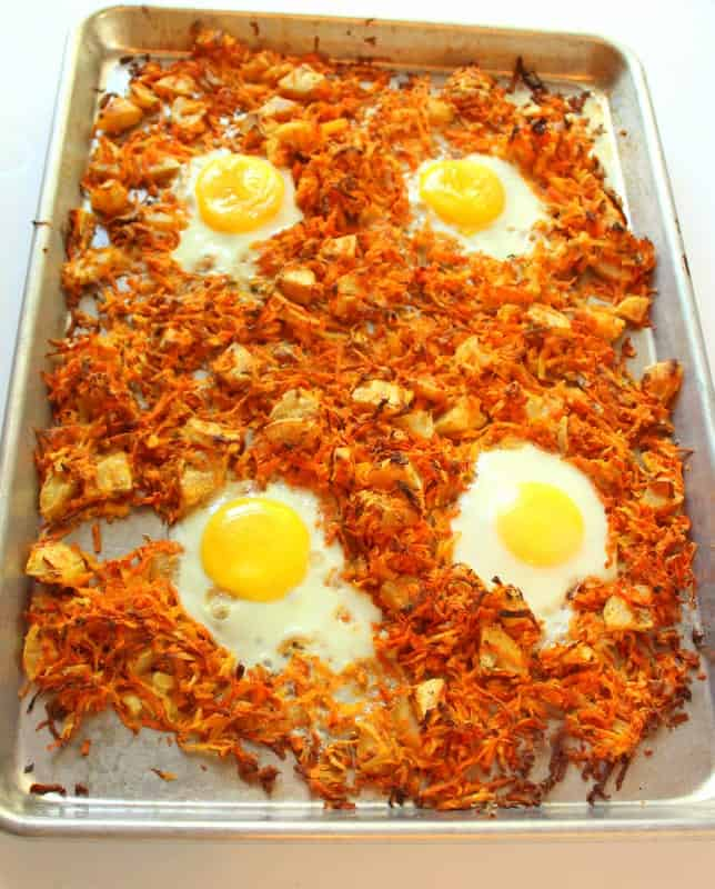 Baked Root Vegetable Hash - low FODMAP, gluten free, grain free, dairy free