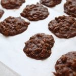 No Bake Cookies - low FODMAP, gluten free
