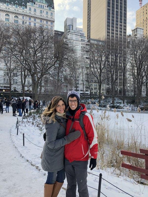 Tara and Brian NYC