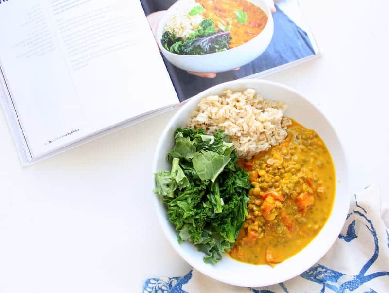 Three tin tomato, turmeric and coconut dahl - The FODMAP Friendly Kitchen