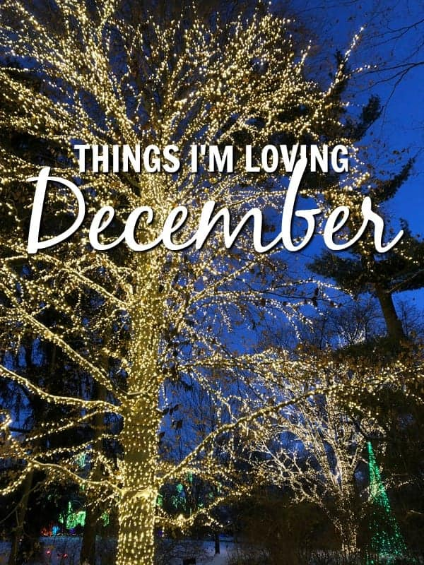 Things I'm Loving December