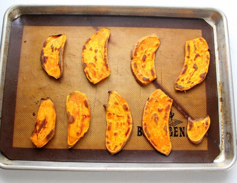 Sweet Potato Toast - low FODMAP, gluten free, dairy free, grain free, vegan