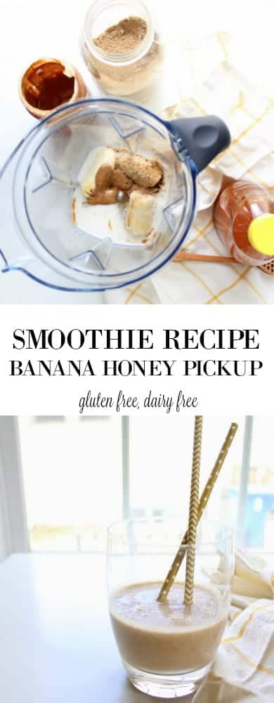 Banana Honey Pickup - gluten free, dairy free, paleo, grain free