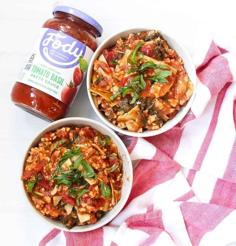 Lasagna Soup #ad #glutenfree #lowfodmap #fodmap #FodyFoods #soup