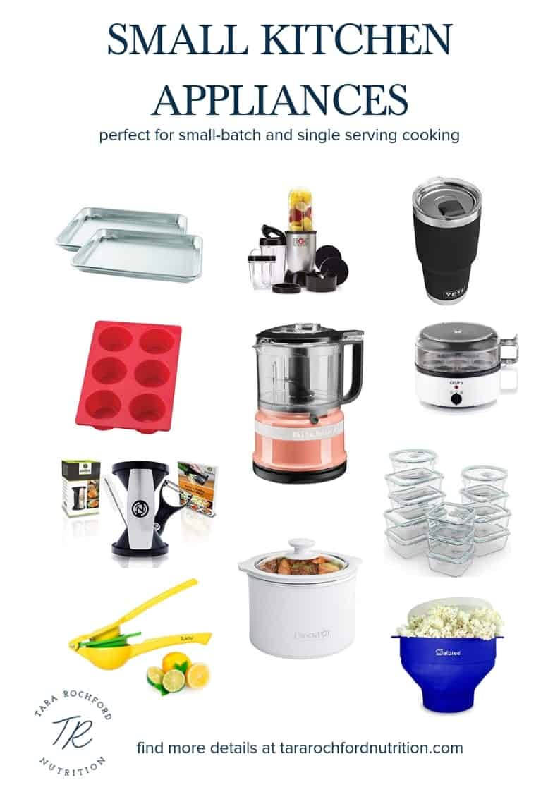 Small Kitchen Appliances #college #dorm #apartment #healthycollege #collegenutrition #singleserving #smallbatch