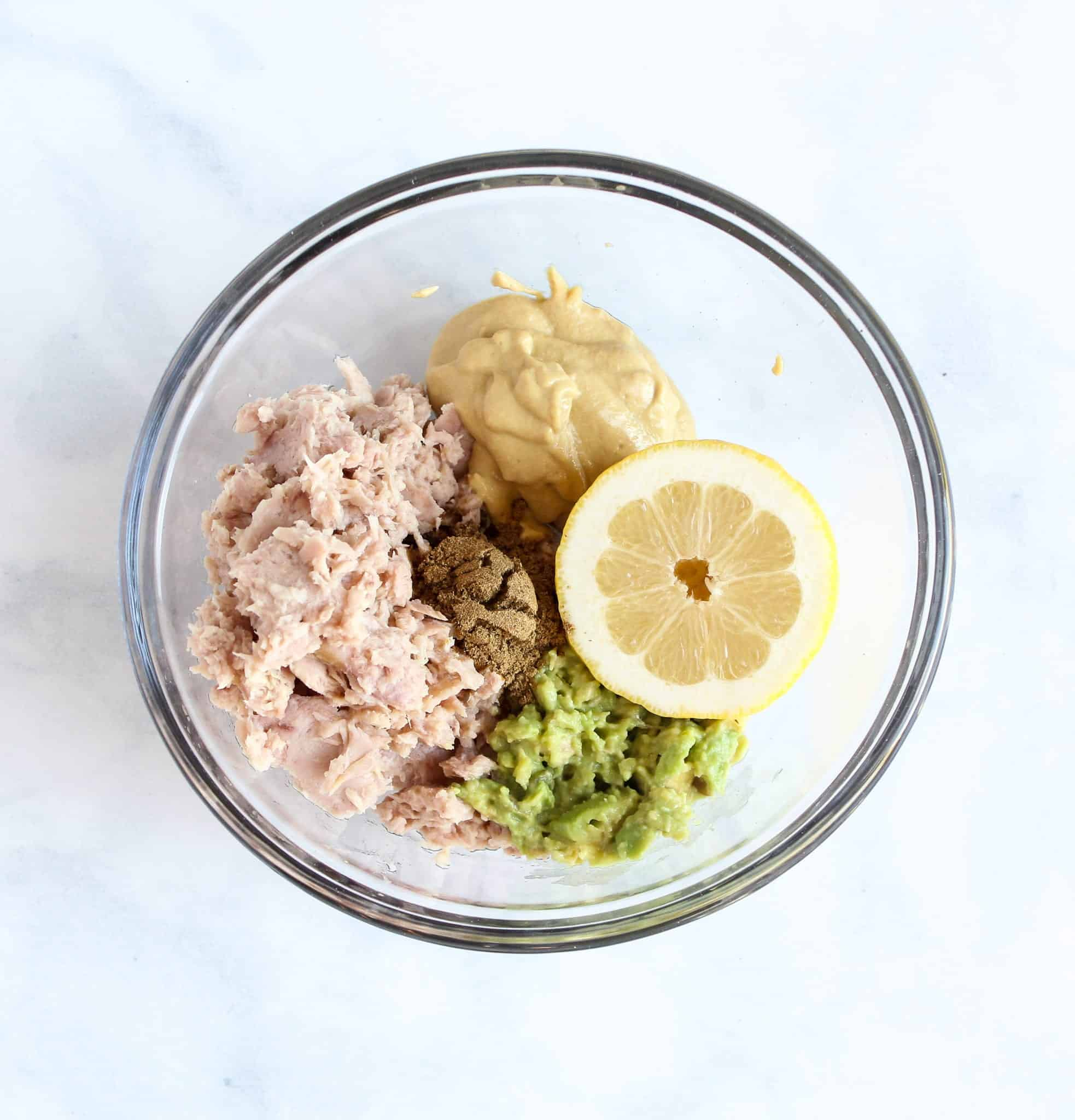 Healthy Tuna Salad Recipe (with Lemon and Avocado!) #glutenfree #dairyfree #lowfodmap
