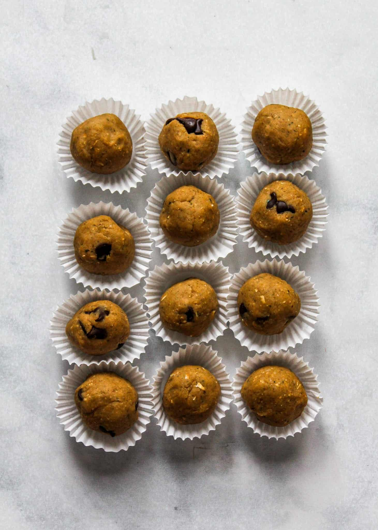 Cookie Dough Snack Bites #glutenfree #dairyfree #protein #vegan #lowfodmap