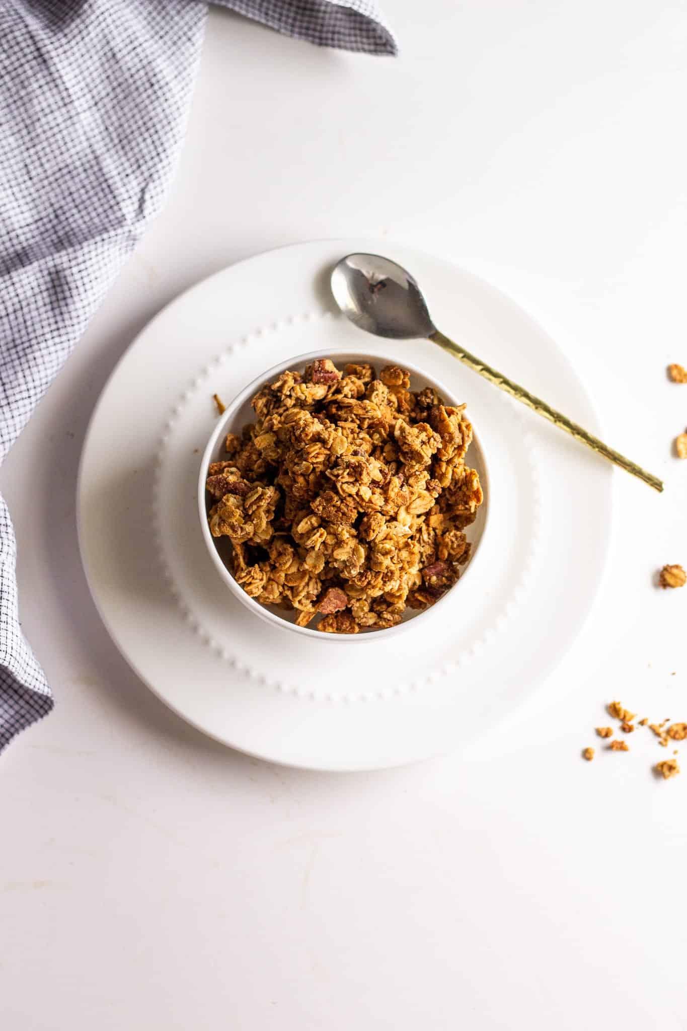 low FODMAP Granola #lowfodmap #glutenfree #dairyfree #vegan