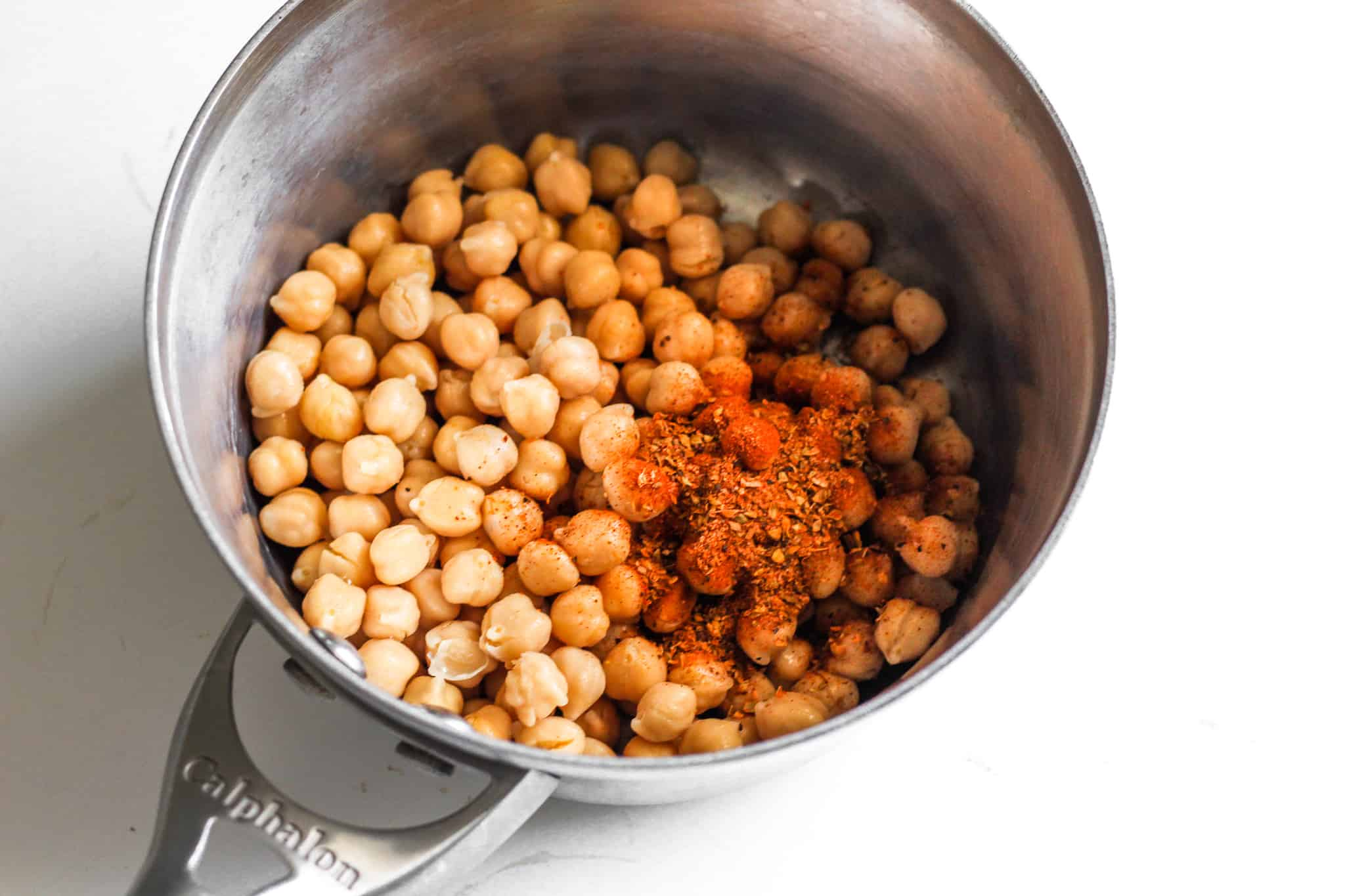 low FODMAP Taco Seasoned Chickpeas #glutenfree #tararochfordnutrition #lowfodmap #vegan
