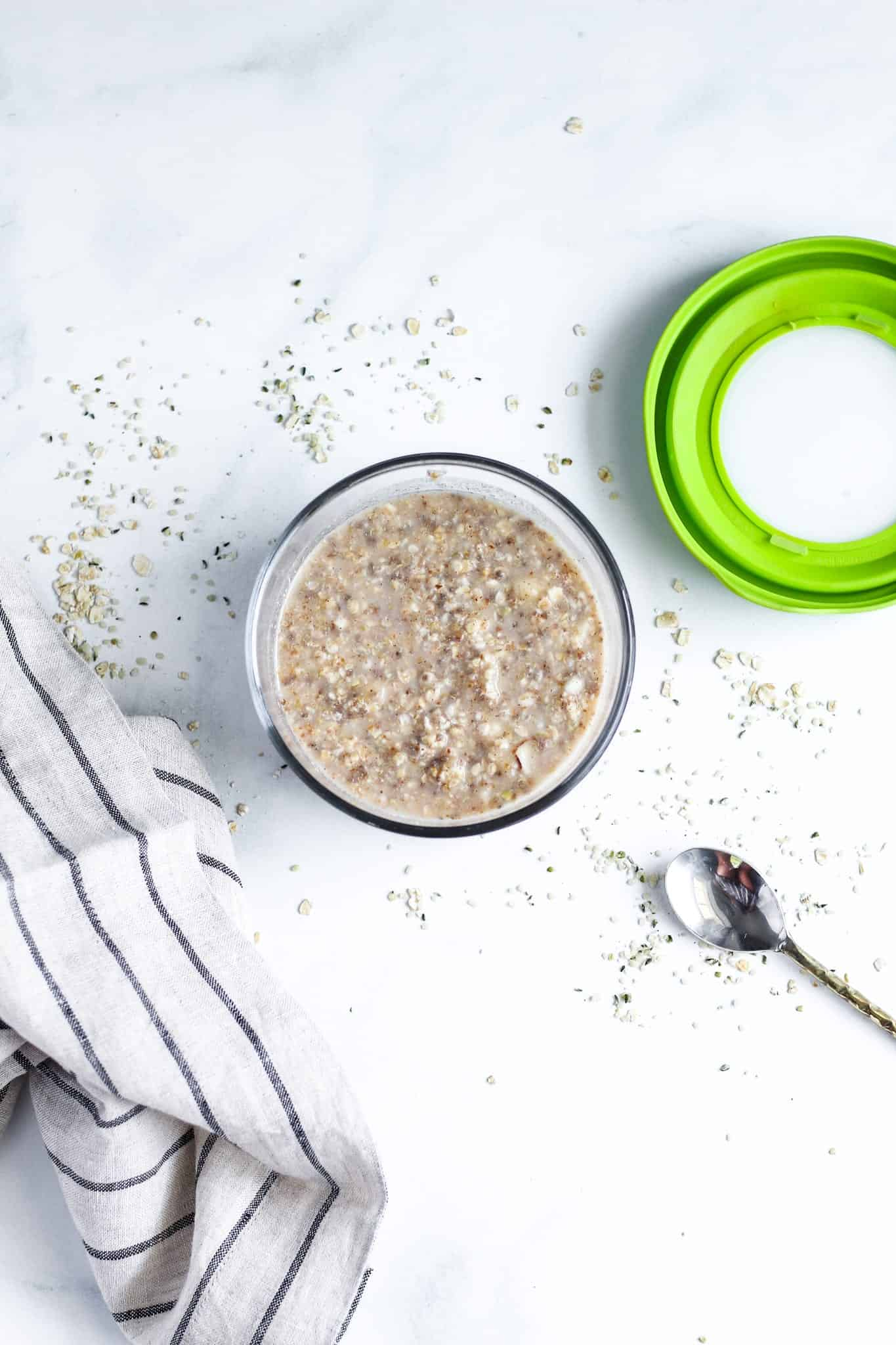 DIY Power Oatmeal Mix #glutenfree #dairyfree #lowfodmap #breakfast #tararochfordnutrition