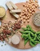Plant Protein Sources #vegan #vegetarian #healthyliving #tararochfordnutrition