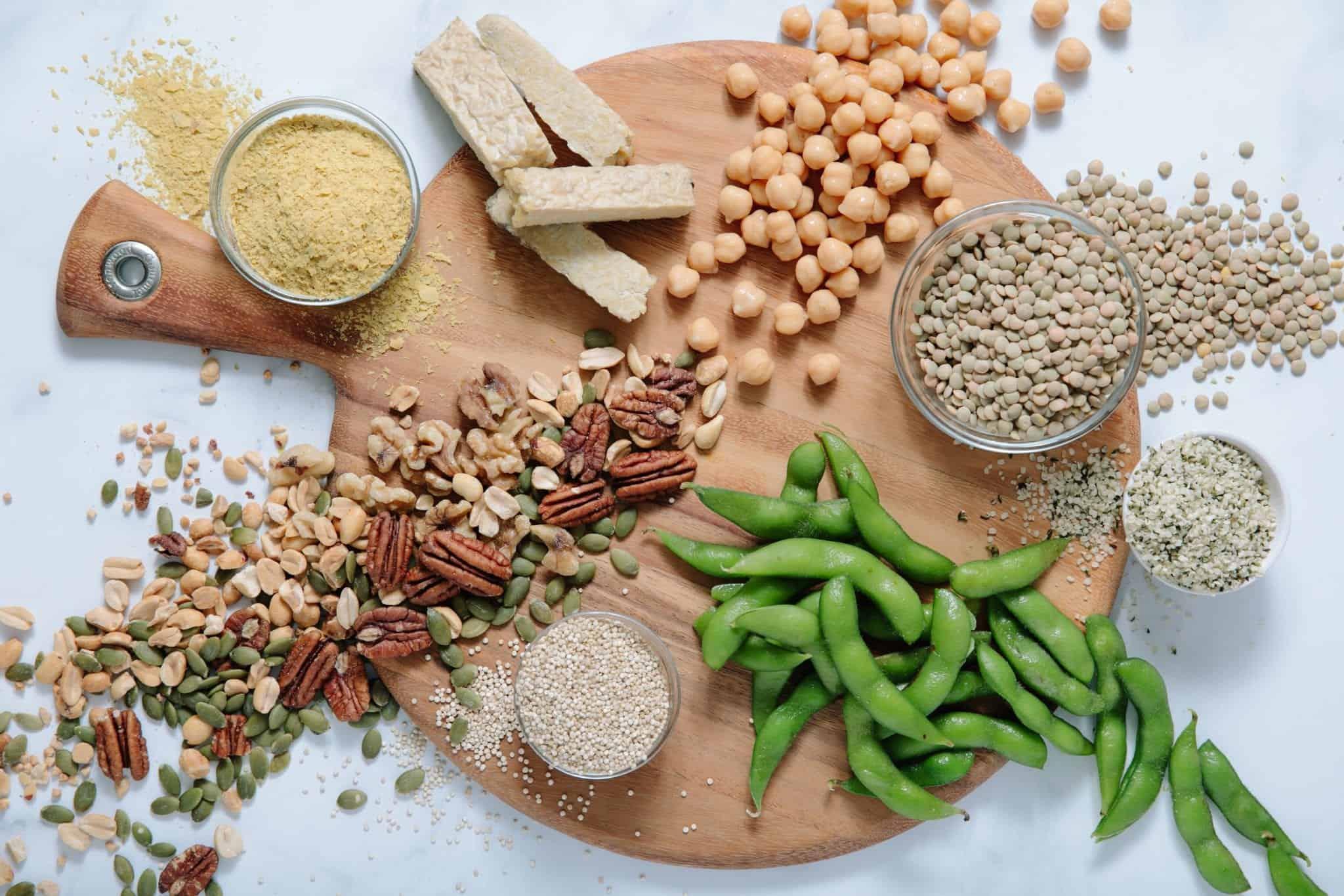 Plant Protein Sources #vegan #vegetarian #healthyliving #tararochfordnutrition