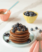 Buckwheat Banana Pancakes - The 14 Day Elimination Diet Plan #tararochfordnutrition #foodallergies #glutenfree #dairyfree