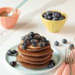 Buckwheat Banana Pancakes - The 14 Day Elimination Diet Plan #tararochfordnutrition #foodallergies #glutenfree #dairyfree