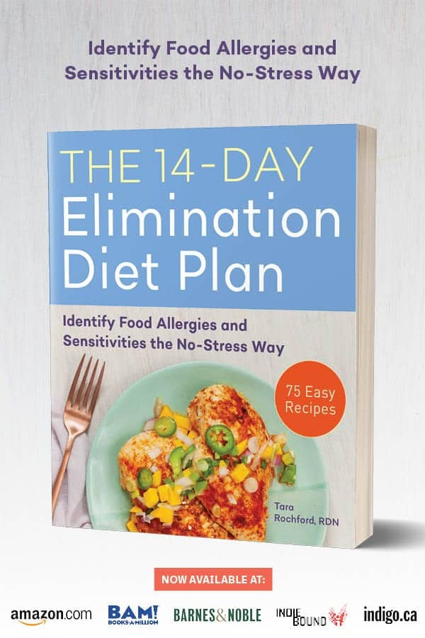 The 14 Day Elimination Diet Plan #tararochfordnutrition #foodallergies #glutenfree #dairyfree
