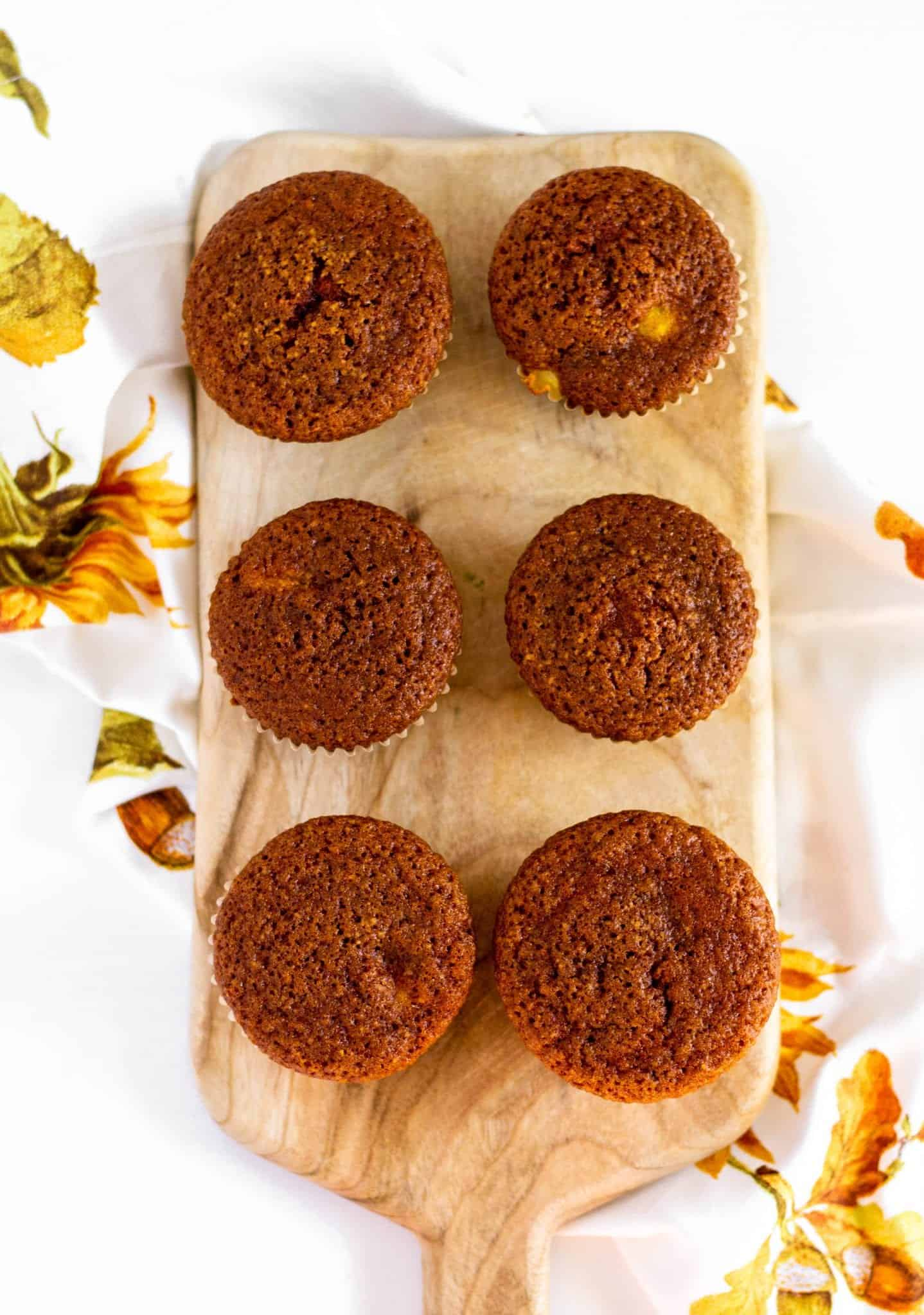 Pumpkin Spice Muffins with Cream Cheese #lowfodmaprecipes #glutenfreerecipes #lactosefree