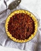 No Corn Syrup Pecan Pie #lowfodmap #thanksgivingrecipe #tararochfordnutrition