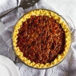 No Corn Syrup Pecan Pie #lowfodmap #thanksgivingrecipe #tararochfordnutrition