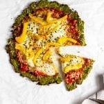 Broccoli Crust Pizza #tararochfordnutrition #lowfodmap #glutenfreedinner #healthypizza