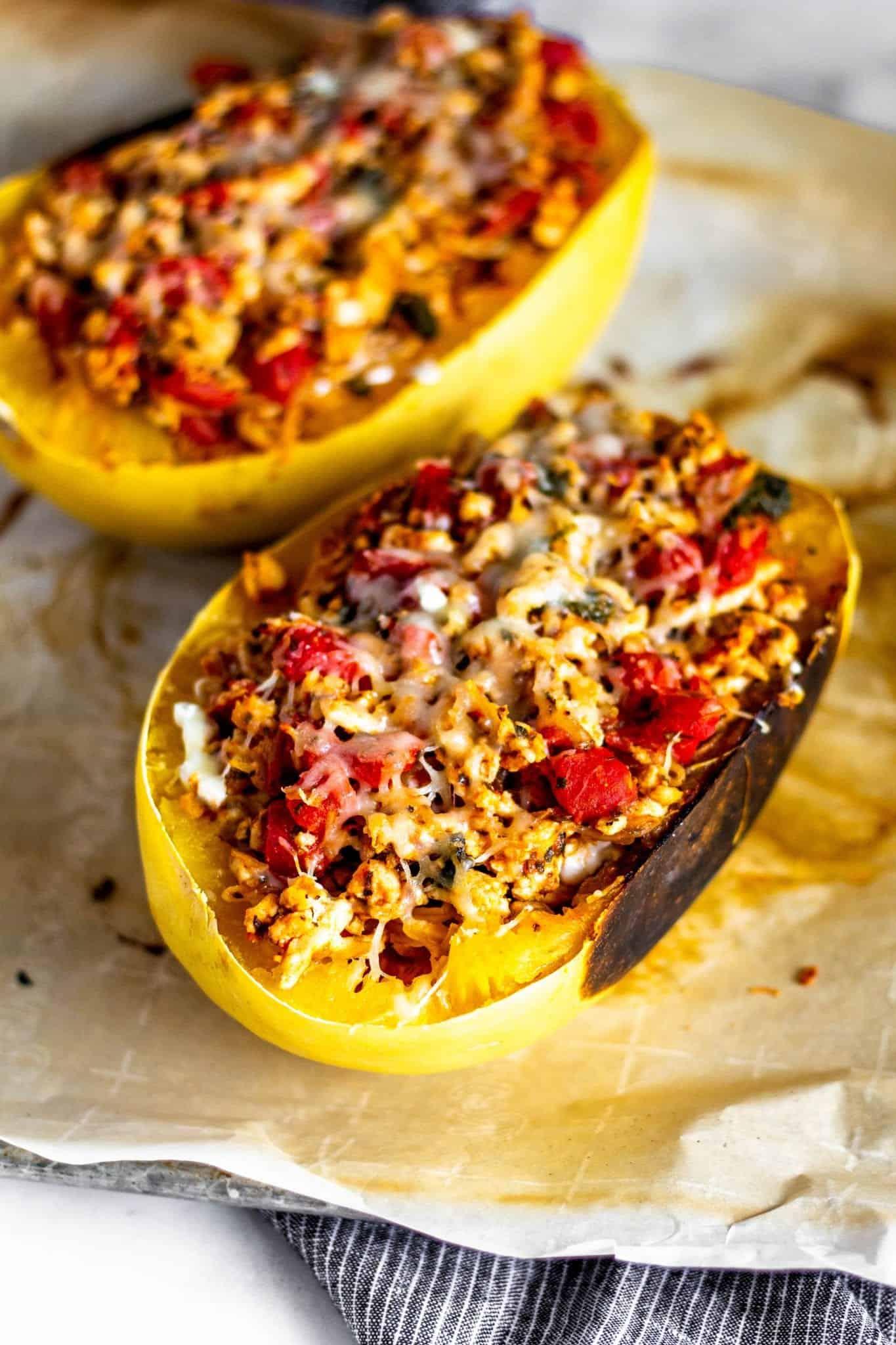 Spaghetti Squash Lasagna #lowfodmap #tararochfordnutrition #glutenfreedinner