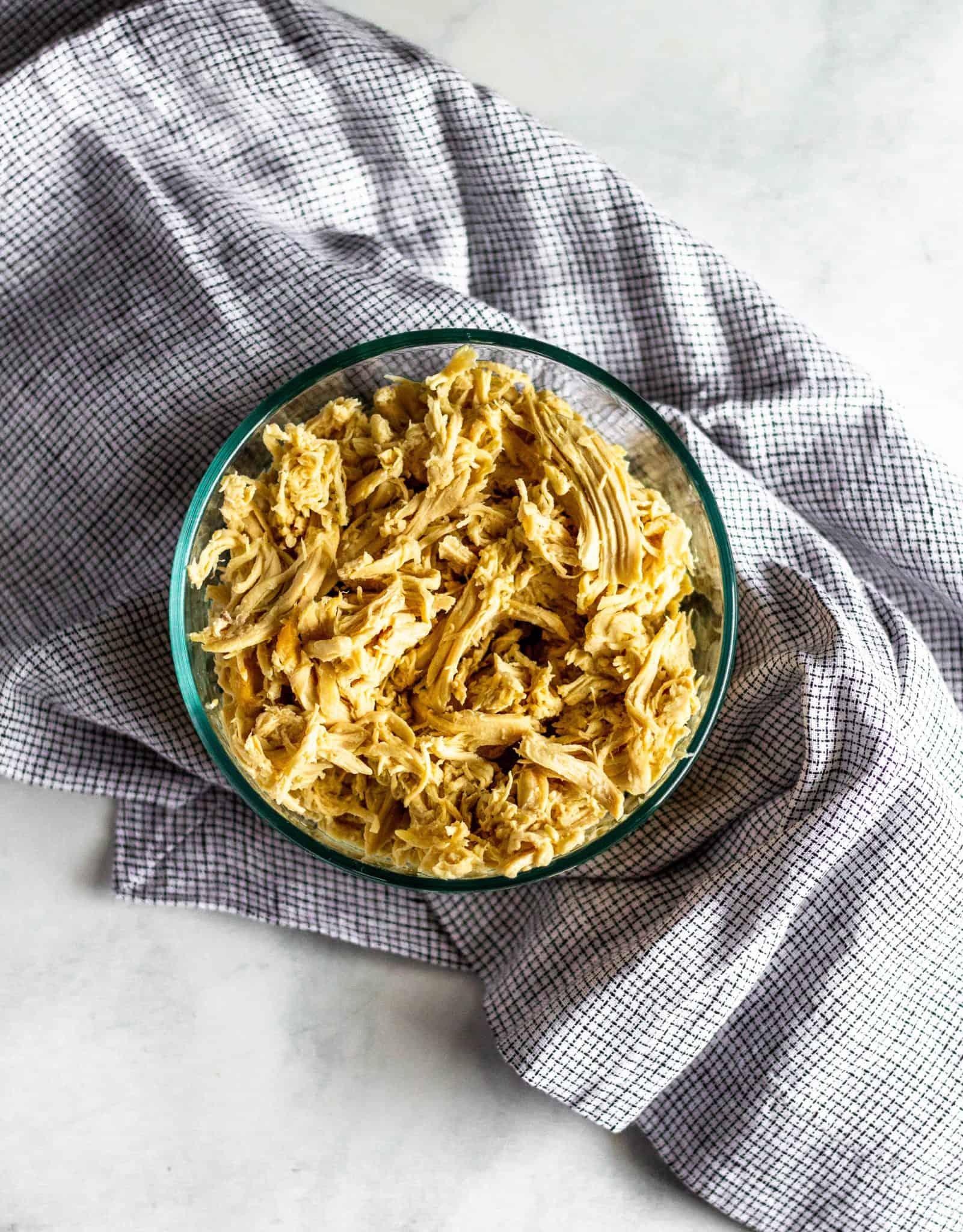 Slow Cooker Shredded Chicken #lowfodmap #healthyrecipes #tararochfordnutrition