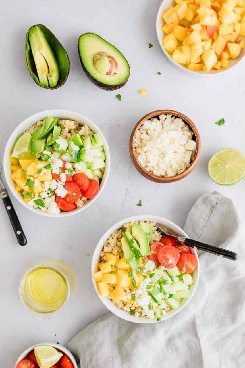 Dietitian Approved Healthy Lunch Recipes #tararochofrdnutrition #healthylunch