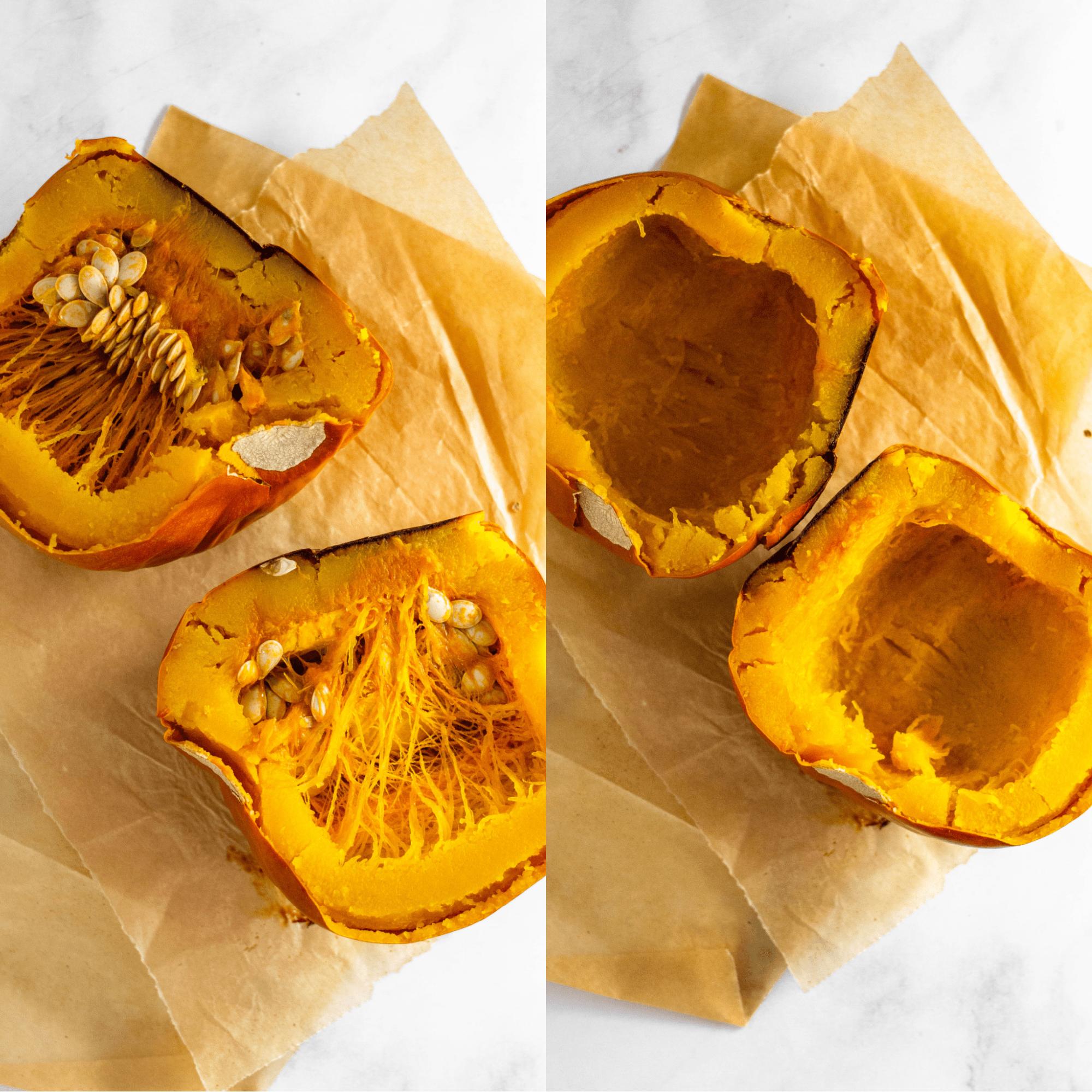 How to Make Homemade Pumpkin Puree #pumpkinrecipes #pumpkinpuree