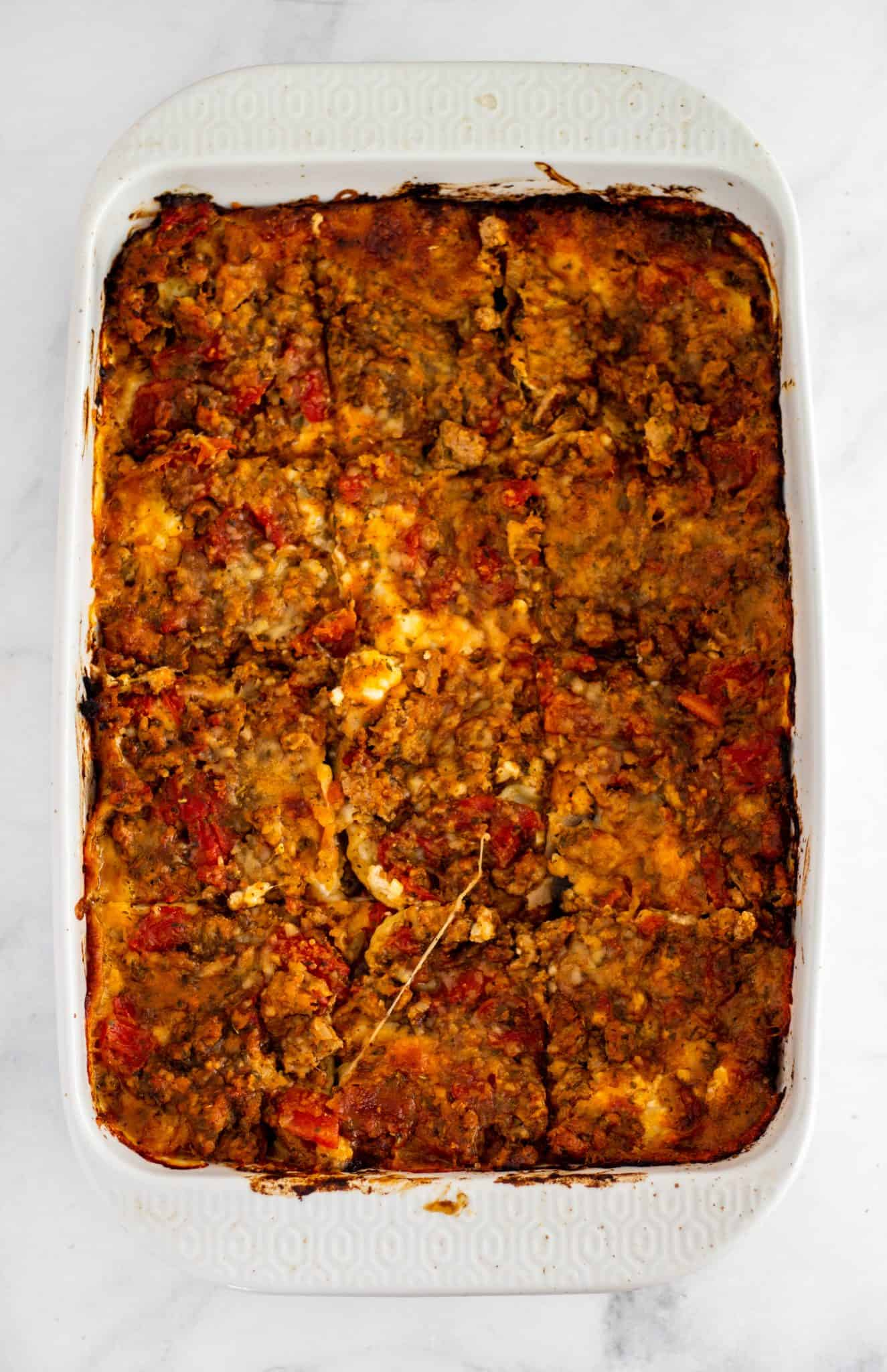Pumpkin and Roasted Vegetable Lasagna | Tara Rochford Nutrition #cansforcomfort #ad